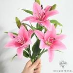 Fleurs de Lys Artificielle | Branche Artificielle | Plante Artificielle | Bouqueternel