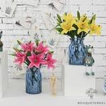 Fleurs de Lys Artificielles | Branche Artificielle | Plante Artificielle | Bouqueternel