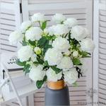 Très Grandes Fleurs Artificielles Pivoines Itoh Bartzella | Pivoines Artificielles | Bouqueternel