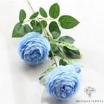 Très Grandes Fleurs Artificielles Pivoines Itoh Bartzella Bleue | Pivoines Artificielles | Bouqueternel