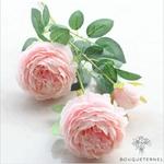 Très Grandes Fleurs Artificielles Pivoines Itoh Bartzella Rose | Pivoines Artificielles | Bouqueternel