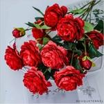 Très Grandes Fleurs Pivoines Itoh Bartzella Artificielles | Pivoines Artificielles | Bouqueternel