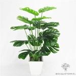 Feuilles Artificielles de Monstera | Branche Artificielle | Plante Artificielle | Bouqueternel