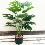 Branches Artificielles de Feuilles de Monstera Artificielles | Branche Artificielle | Plante Artificielle | Bouqueternel