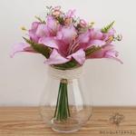 Fleurs Artificielles au Toucher Naturel Violet   Bouquet Artificiel   Bouqueternel
