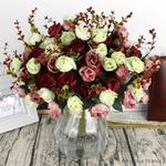 Belles Fleurs Artificielles pour Cimetière | Bouquet Artificiel | Bouqueternel