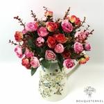 Bouquet de Belles Fleurs Artificielles pour Cimetière | Bouquet Artificiel | Bouqueternel