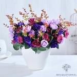 Bouquets de Belles Fleurs Artificielles pour Cimetière | Bouquet Artificiel | Bouqueternel
