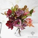 Bouquet de Fleurs Artificielles d'Extérieur pour Cimetière | Bouquet Artificiel | Bouqueternel