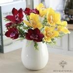Bouquet de Fleurs dOrchidées Artificielles pour Mariage | Bouquet Artificiel | Fleur Artificielle Mariage | Bouqueternel