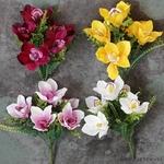 Bouquets de Fleurs dOrchidées Artificielles pour Mariage | Bouquet Artificiel | Fleur Artificielle Mariage | Bouqueternel