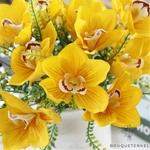 Fleur dOrchidée Artificielle pour Mariage | Bouquet Artificiel | Fleur Artificielle Mariage | Bouqueternel