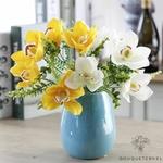 Fleurs dOrchidées Artificielles Mariage | Bouquet Artificiel | Fleur Artificielle Mariage | Bouqueternel
