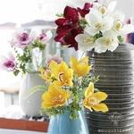 Fleurs dOrchidées Artificielles Mariage en Bouquet | Bouquet Artificiel | Fleur Artificielle Mariage | Bouqueternel