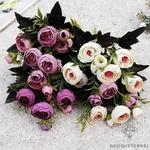 Bouquet de Fleurs Artificielles pour Tombe | Bouquet Artificiel | Bouqueternel
