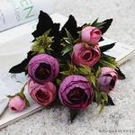 Bouquet de Fleurs Artificielles pour Tombe Violet | Bouquet Artificiel | Bouqueternel