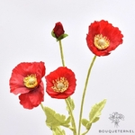 Coquelicots Apulum Géant Artificiels | Fleurs Artificielles | Coquelicots Artificiels | Bouqueternel