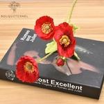 Coquelicots Géant Artificiels Rouge | Fleurs Artificielles | Coquelicots Artificiels | Bouqueternel