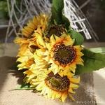 Fleur Artificielle de Tournesol  | Fleurs Artificielles | Tournesols Artificiels | Bouqueternel