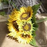 Fleur de Tournesol Artificielle | Fleurs Artificielles | Tournesols Artificiels | Bouqueternel