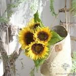 Fleurs Artificielles de Tournesol  | Fleurs Artificielles | Tournesols Artificiels | Bouqueternel