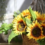 Fleurs de Tournesol Artificielles | Fleurs Artificielles | Tournesols Artificiels | Bouqueternel