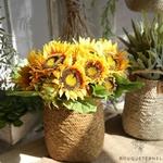 Fleurs de Tournesols Artificielles | Fleurs Artificielles | Tournesols Artificiels | Bouqueternel