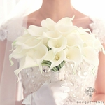 Bouquet de Fleurs de Lys pour Mariage | Fleurs Artificielles | Fleurs de Lys Artificielles | Bouqueternel