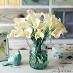 Bouquet Lys Mariage | Fleurs Artificielles | Fleurs de Lys Artificielles | Bouqueternel