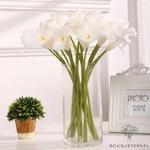 Bouquet pour Mariage de Fleurs de Lys | Fleurs Artificielles | Fleurs de Lys Artificielles | Bouqueternel