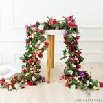 Guirlande de Fleurs Artificielles pour cérémonie de Mariage | Fleurs Artificielles Mariage | Bouqueternel