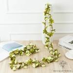 Guirlande de Fleurs Artificielles pour Mariage Blanc | Fleurs Artificielles Mariage | Bouqueternel