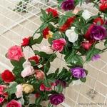 Guirlande de Fleurs Artificielles pour votre Mariage | Fleurs Artificielles Mariage | Bouqueternel