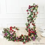 Guirlandes de Fleurs Artificielles pour Cérémonie Mariage | Fleurs Artificielles Mariage | Bouqueternel