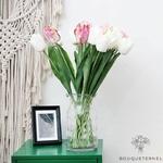 Tulipes Artificielles Haut de Gamme | Fleurs Artificielles | Tulipes Artificielles | Bouqueternel