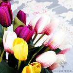 Bouquet de Tulipe Artificielles | Fleurs Artificielles | Tulipes Artificielles | Bouqueternel