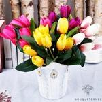 Bouquet de Tulipes Artificielles | Fleurs Artificielles | Tulipes Artificielles | Bouqueternel
