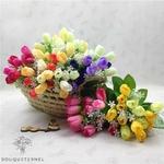 Bouquet Tulipes Artificielles de Luxe | Fleurs Artificielles | Tulipes Artificielles | Bouqueternel