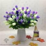 Bouquet Tulipes Artificielles Luxe | Fleurs Artificielles | Tulipes Artificielles | Bouqueternel