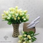 Tulipes Artificielles Luxe | Fleurs Artificielles | Tulipes Artificielles | Bouqueternel