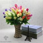 Bouquets Tulipes Artificielles Luxe | Fleurs Artificielles | Tulipes Artificielles | Bouqueternel