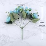 Bouquet de Fleurs Artificielles Haut de Gamme Bouqueternel Dimensions