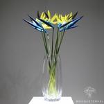 Strelitzia Nicolai Artificiel | Fleurs Artificielles | Fleurs Artificielles Oiseau de Paradis | Bouqueternel