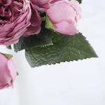 Bouqueternel Pivoine Artificielle Bouquet de Fleurs Artificielles Haut de Gamme