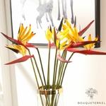 Fleurs Oiseau de Paradis Artificiel Pas Cher | Fleurs Artificielles | Fleurs Artificielles Oiseau de Paradis | Bouqueternel