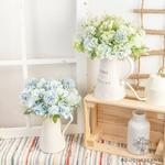 Petites Composition Florale pour Table Mariage | Fleurs Artificielles | Hortensias Artificiels |  Bouqueternel