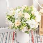 Petites Compositions Florale pour Tables Mariage | Fleurs Artificielles | Hortensias Artificiels |  Bouqueternel