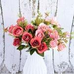 Centre de Table de Mariage en Fleurs Artificielles | Fleurs Artificielles | Roses Artificielles | Bouqueternel