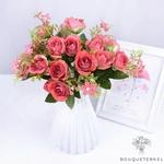 Centre de Table de Mariage Fleurs Artificielles | Fleurs Artificielles | Roses Artificielles | Bouqueternel