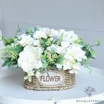Décoration Table dHonneur pour Mariage Champêtre | Fleurs Artificielles | Pivoines Artificielles | Bouqueternel